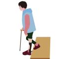 【装具をつけても履ける靴】装具用のスニーカーや専用シューズなら安心